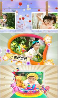 会声会影x6六一儿童节儿童写真模板