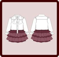少女装连衣裙
