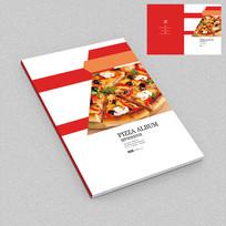 披萨美食配送手册封面