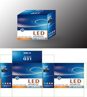 大气简洁LED灯盒 AI矢量