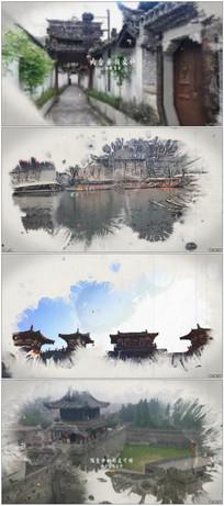 大气中国风水墨晕染城市宣传片