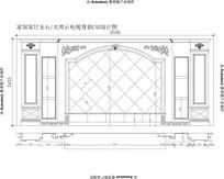 奥特曼大理石电视背景墙欧式客厅电视背景墙设计图