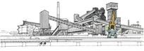 工业工厂建筑