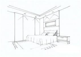建筑手绘线稿图片