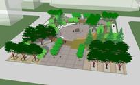 景观城市休闲广场