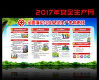2017年安全生产月宣传栏