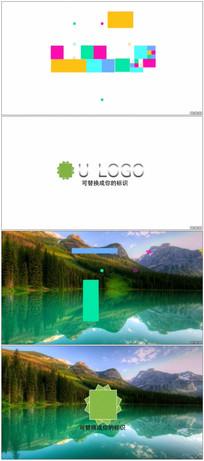 简洁图形Logo动画视频