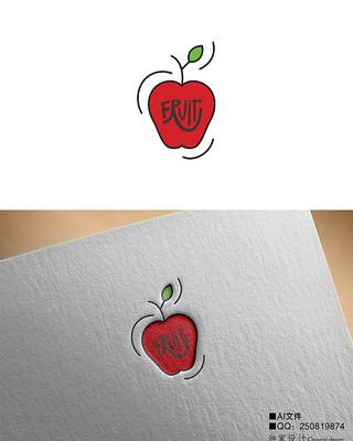 鲜切水果苹果LOGO