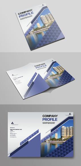 简单大气企业画册封面产品手册封面