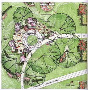 手绘植物线稿