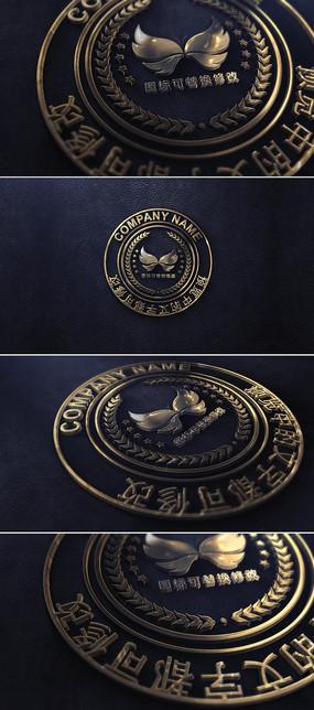 大氣印章logo標志