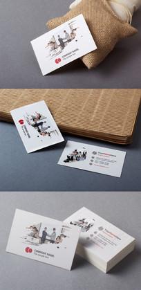企业集团名片设计
