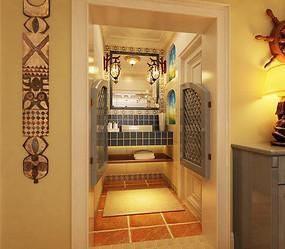 澡堂式浴室门