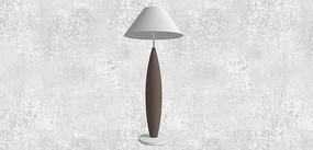 床头灯模型