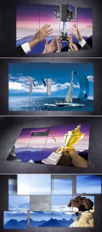 大气照片墙宣传展示ae模板