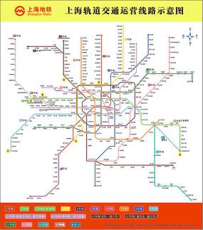 上海地图矢量