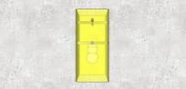 黄色玻璃壁灯
