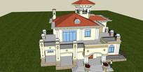 住宅别墅模型