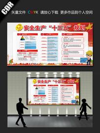安全生产十三五规划展板