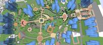 大型欧式住宅规划