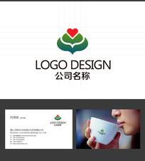 心形LOGO标志设计
