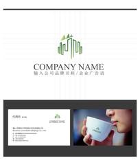 房地产建筑logo标志设计