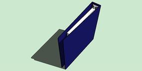 蓝色文件夹