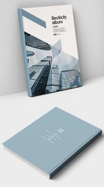 城市发展规划商业画册封面设计