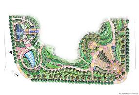 小区平面规划图