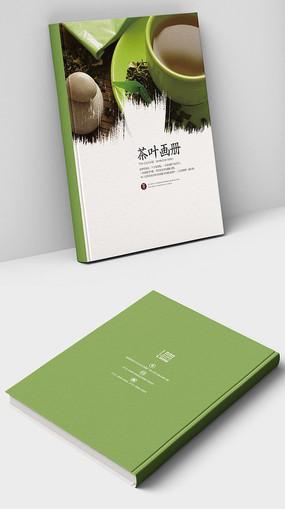 中国风茶叶画册封面设计