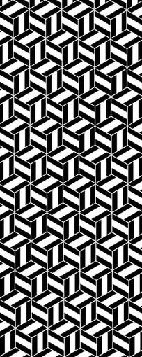 斑纹正方形图案