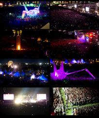 大型音乐演唱会视频