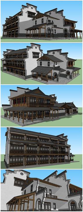 南建筑传统建筑