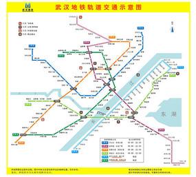 武汉矢量地图