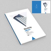 建筑设计公司企业画册封面