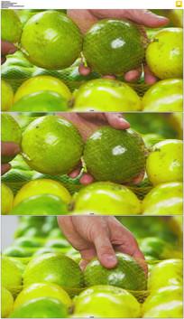 绿色水果实拍视频素材