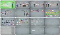 mg动画元素视频模板