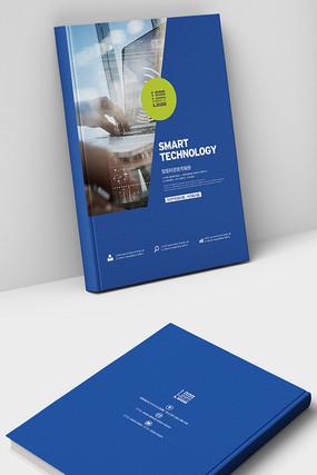 科技网络IT数据画册封面