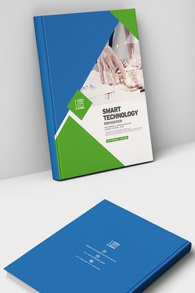 商务科技简约画册封面