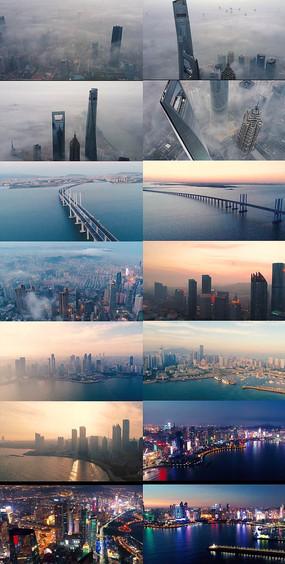 海滨城市图片素材
