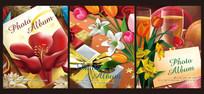 油画花卉相册封面