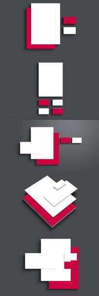 品牌vi智能贴图名片智能贴图