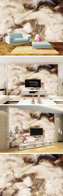 抽象大理石纹背景墙