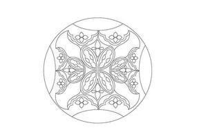 椭圆形图案