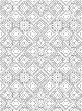 欧式方块花纹雕刻图案