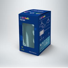 电子电器灯泡包装盒