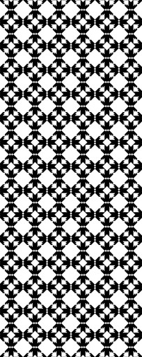 十字方形图案