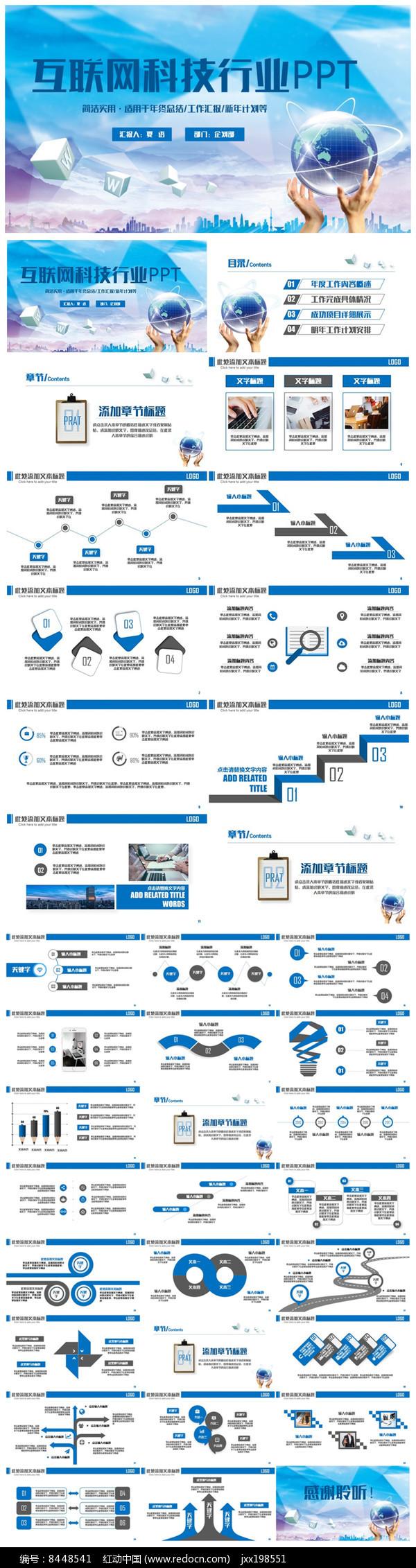 完整IT互联网电子商务PPT
