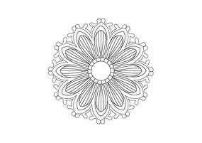 富有动感的花瓣雕刻纹样
