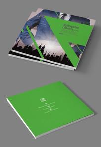 绿色环保新能源企业画册封面